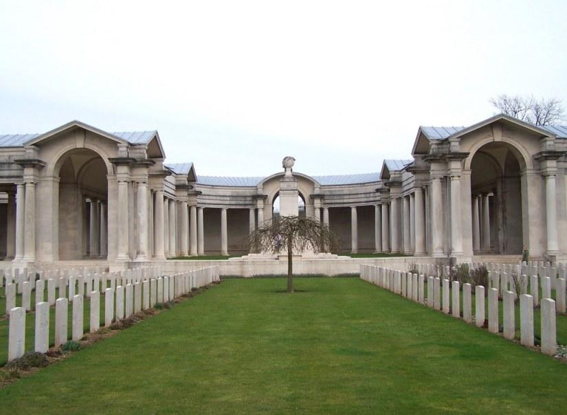 Arras Frederick memorial