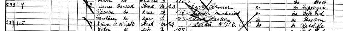 james donald 1901