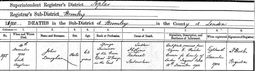 John Donoghue death